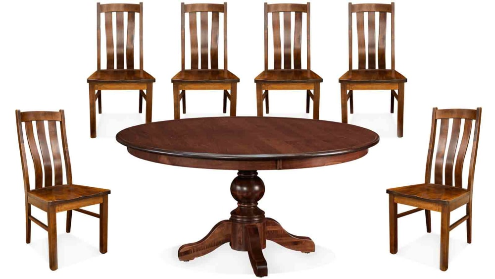 "Baytown 60"" Bishop Six-Chair Dining Set, , small"