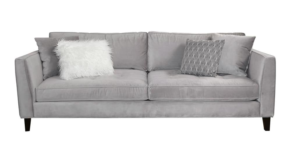 Calista Velvet Sofa