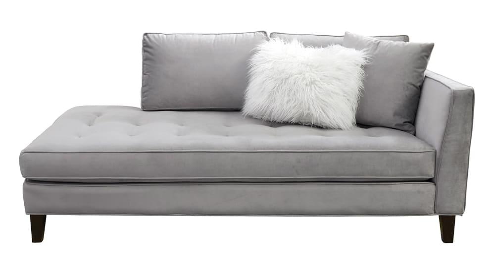 Calista Velvet Chaise