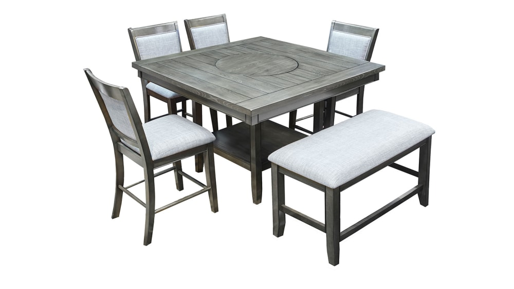 Import Fulton Rustic Counter Table Set