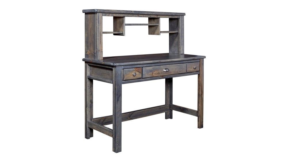 Turkey Creek Rustic Gray 2-Pc. Desk and Hutch