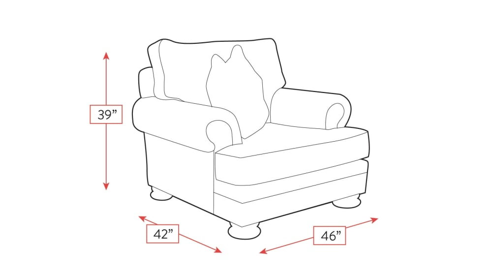 Foster Chair Frame Drawing