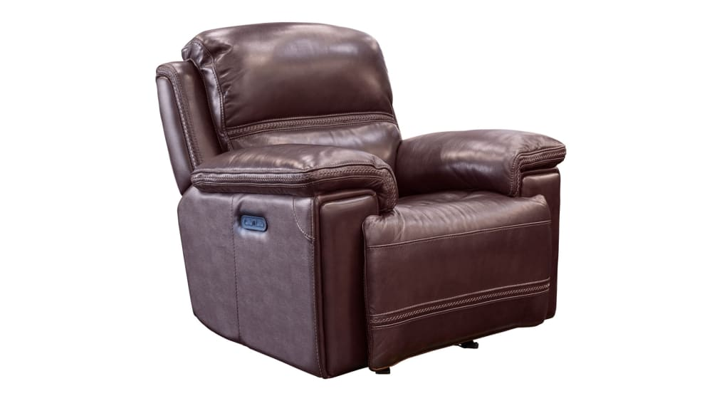 Secretariat Burgundy Power Recliner, , hi-res