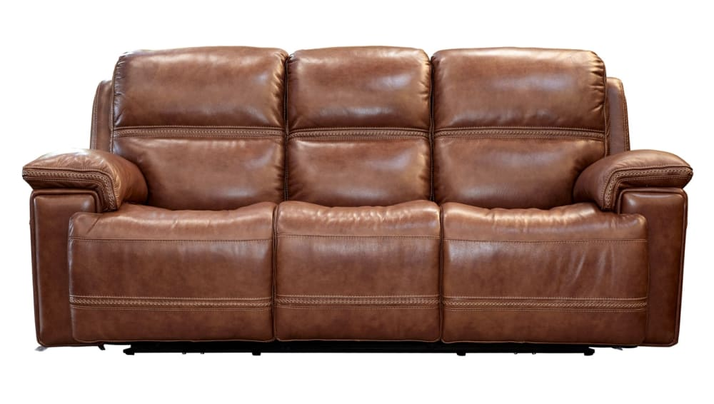 Secretariat Brown Power Reclining Sofa