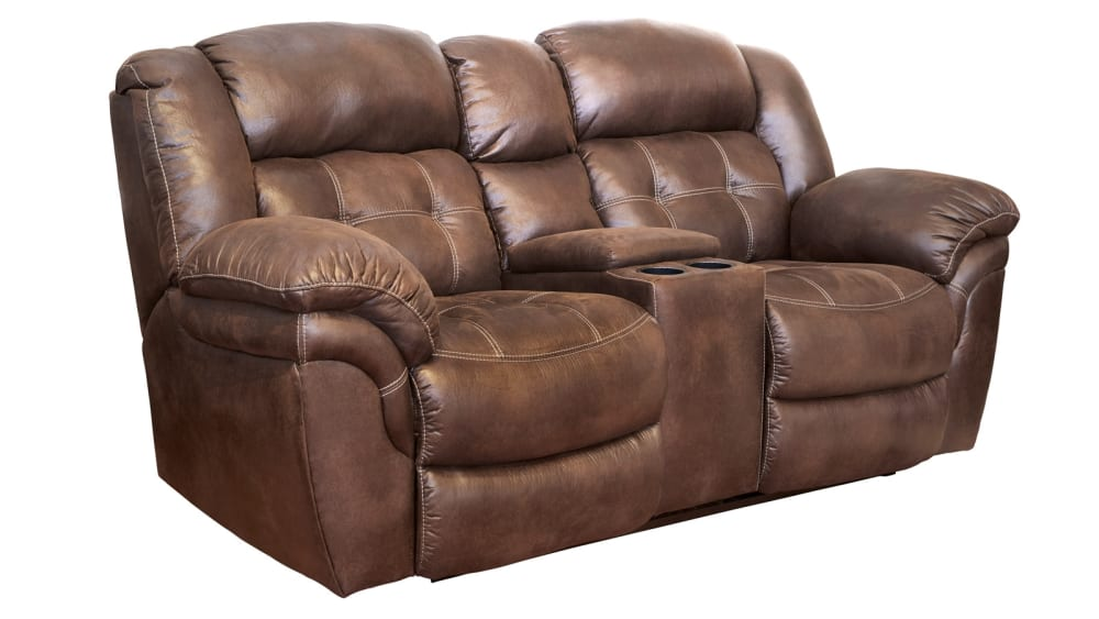 Marcelina Espresso Power Reclining Loveseat