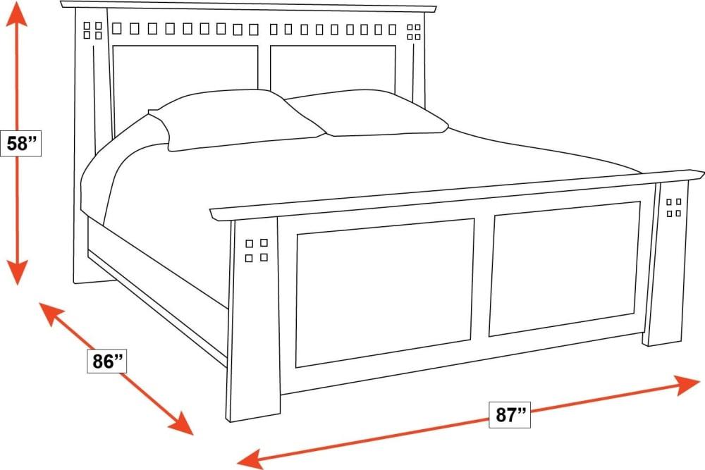 Stickley Highland King Bed