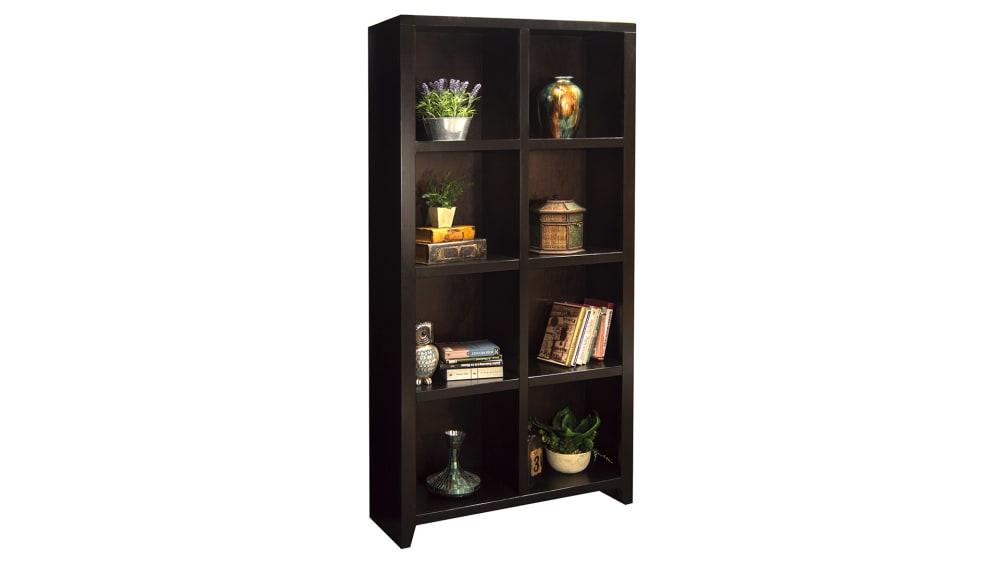 Urban Merlot Bookcase