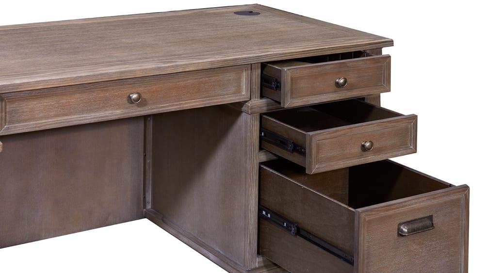 Carson Double Pedestal Desk