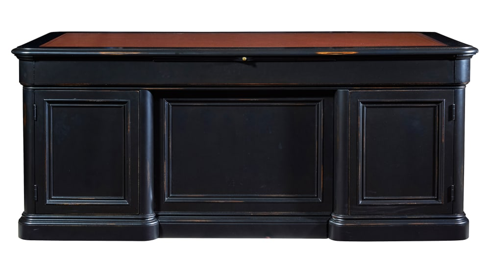 Import Louis Phillipe Executive Desk, , hi-res