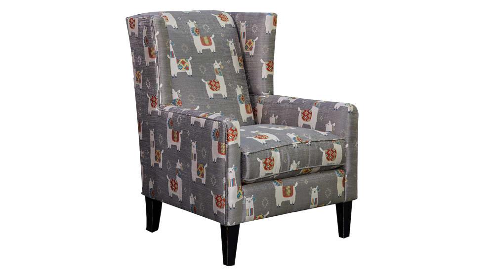 Llama Drama Accent Chair