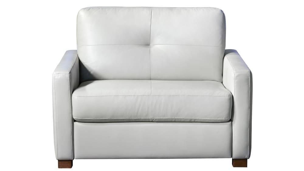 Italy Light Gray Twin Sleeper Sofa