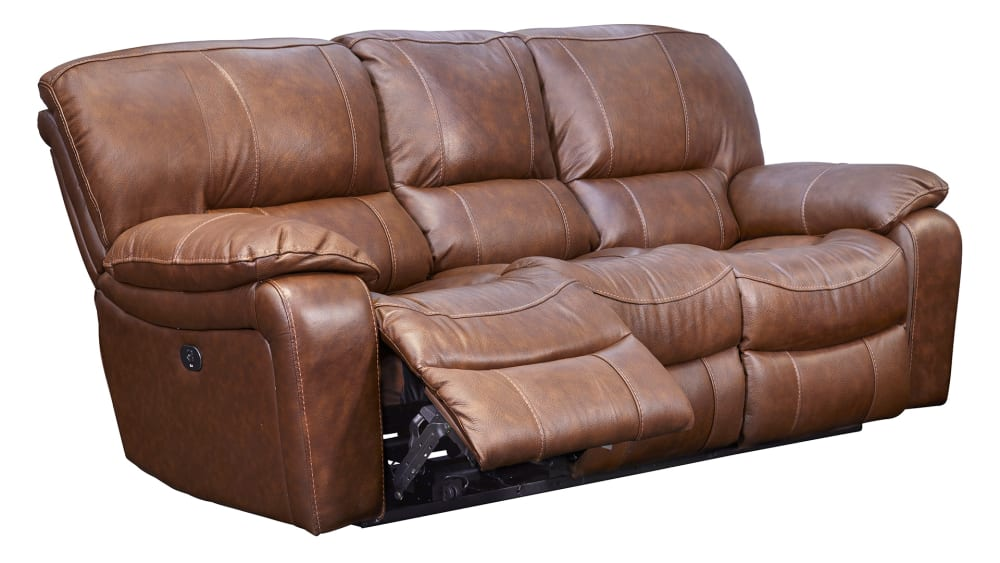 Trinity Leather Power Motion Sofa