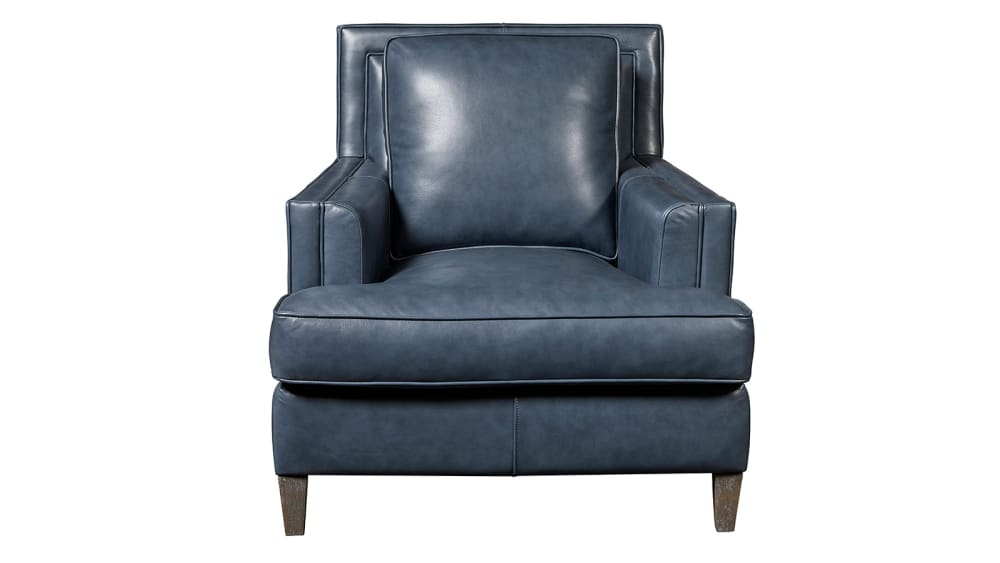 Addison Stormy Leather Chair