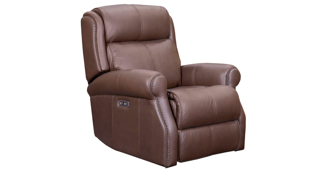Mcgwire Brown Power Recliner
