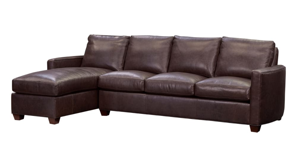 Chesney Leather Sectional
