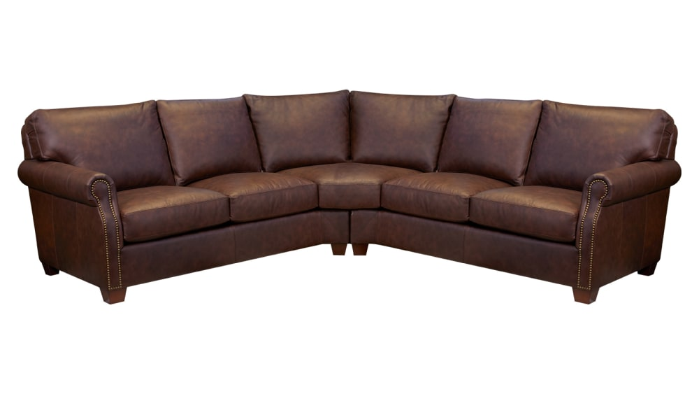 Adams Leather Sectional