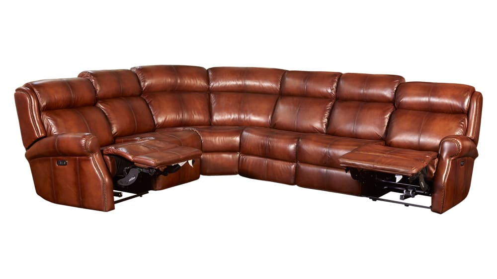 Mcgwire Chestnut Power Sectional