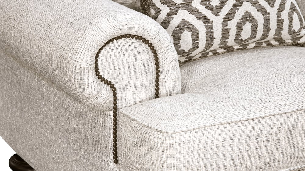 Foster Oatmeal Loveseat, , hi-res