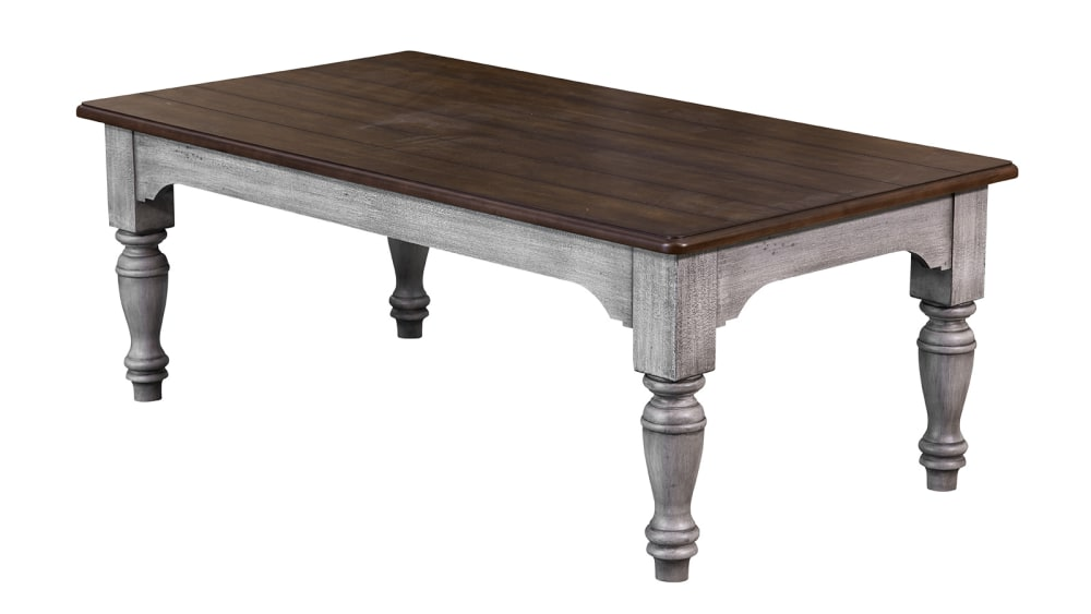 Plymouth Distressed Rectangular Cocktail Table