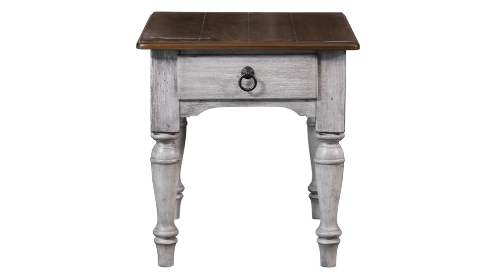 Plymouth Distressed End Table