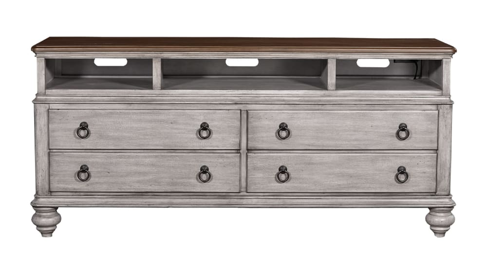 Plymouth Distressed 66'' TV Console