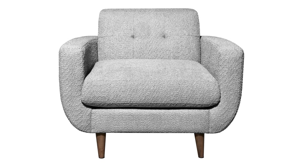 Bryce Gray Arm Chair, , hi-res