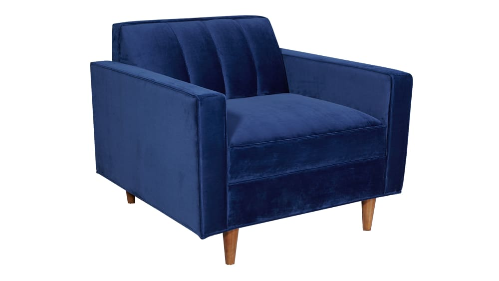Jace Royal Blue Arm Chair