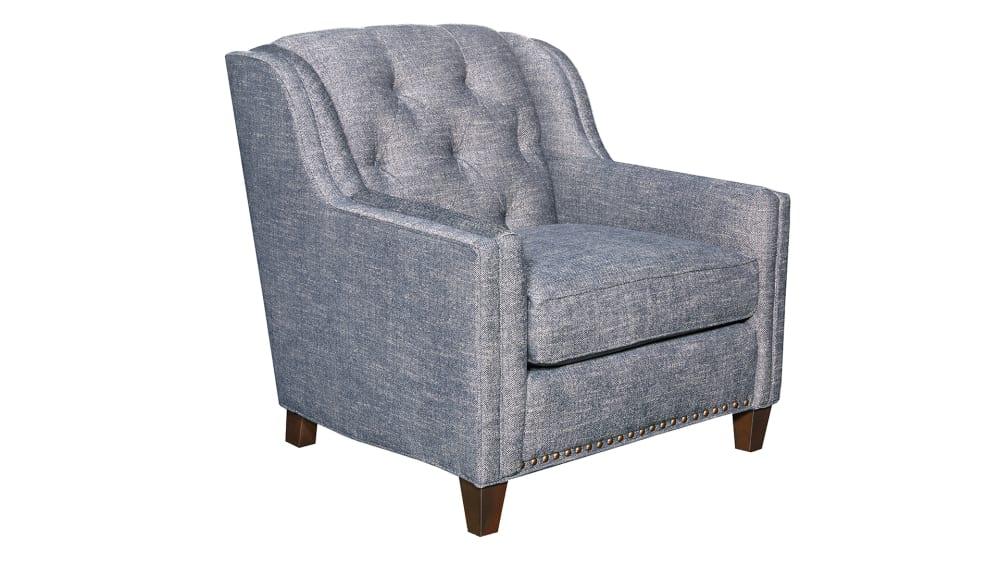 Ellis Blue Chair, , hi-res