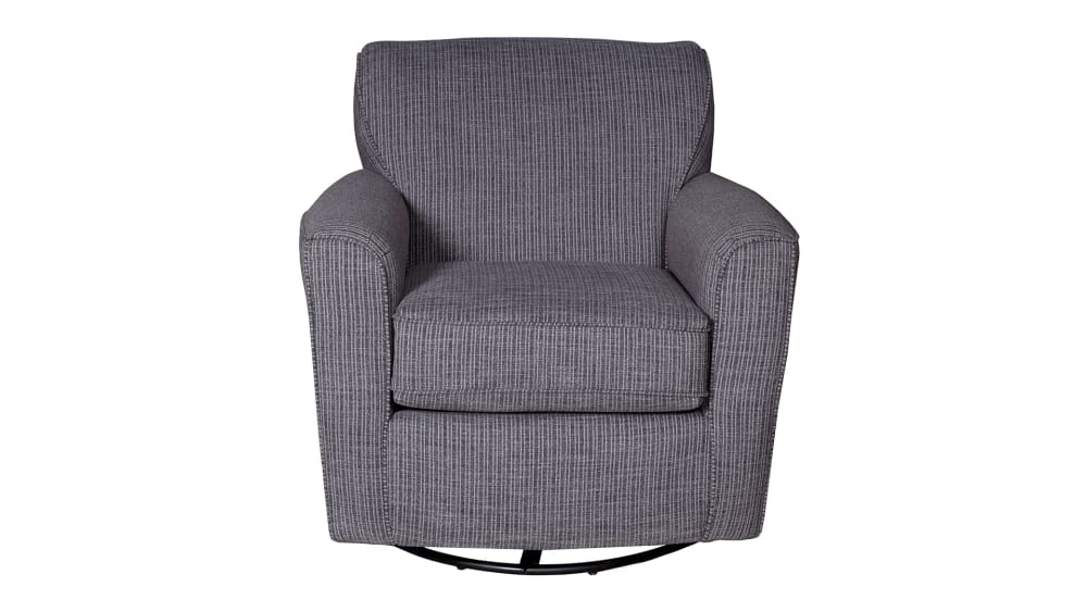 Kaylee Ebony Swivel Chair, , hi-res