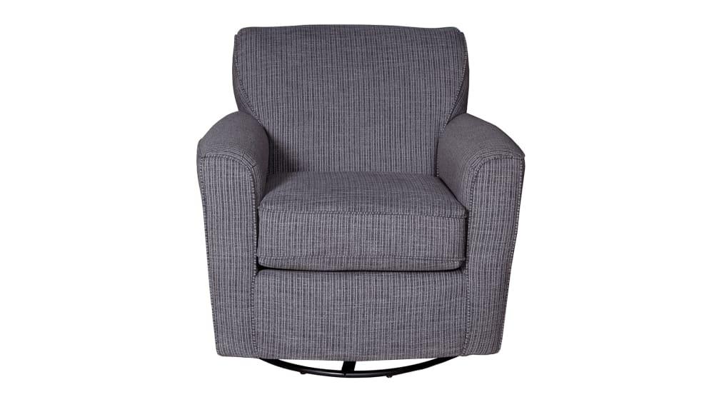 Kaylee Ebony Swivel Chair