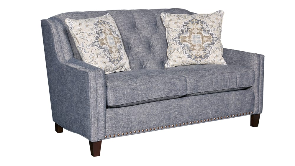 Ellis Blue Loveseat, , hi-res