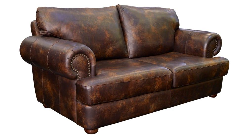 Titan Leather Loveseat