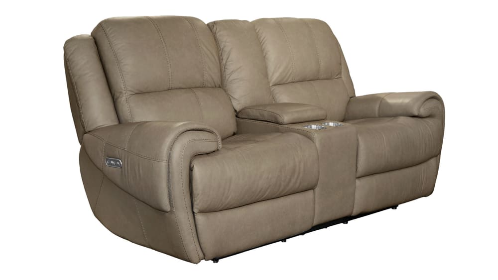 American Power Reclining Loveseat W/Console
