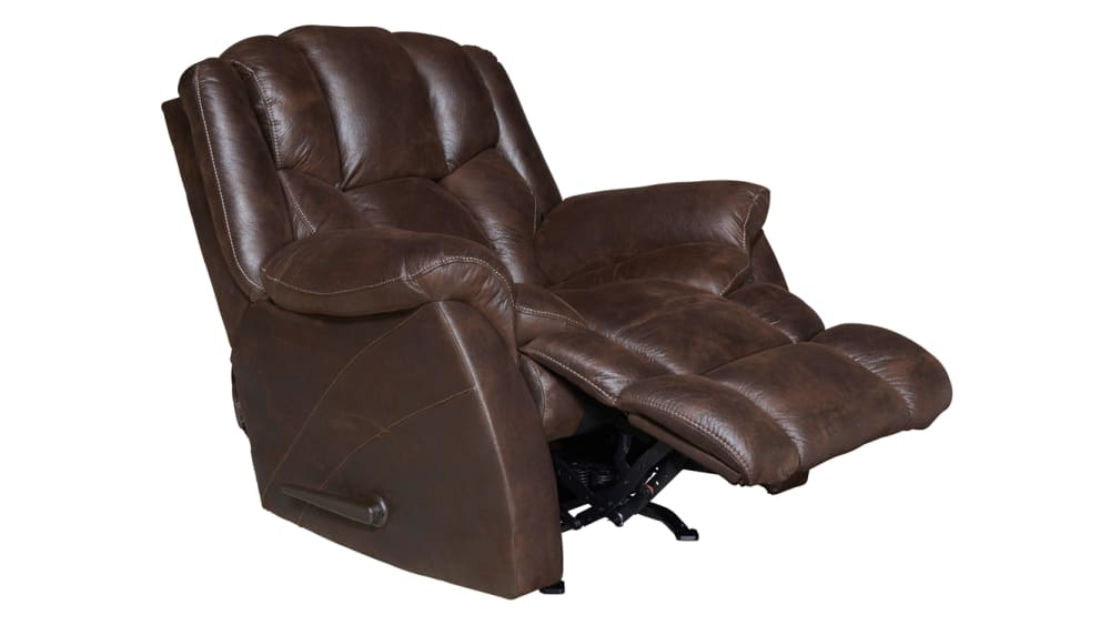 Roadrunner Chocolate Rocker Recliner