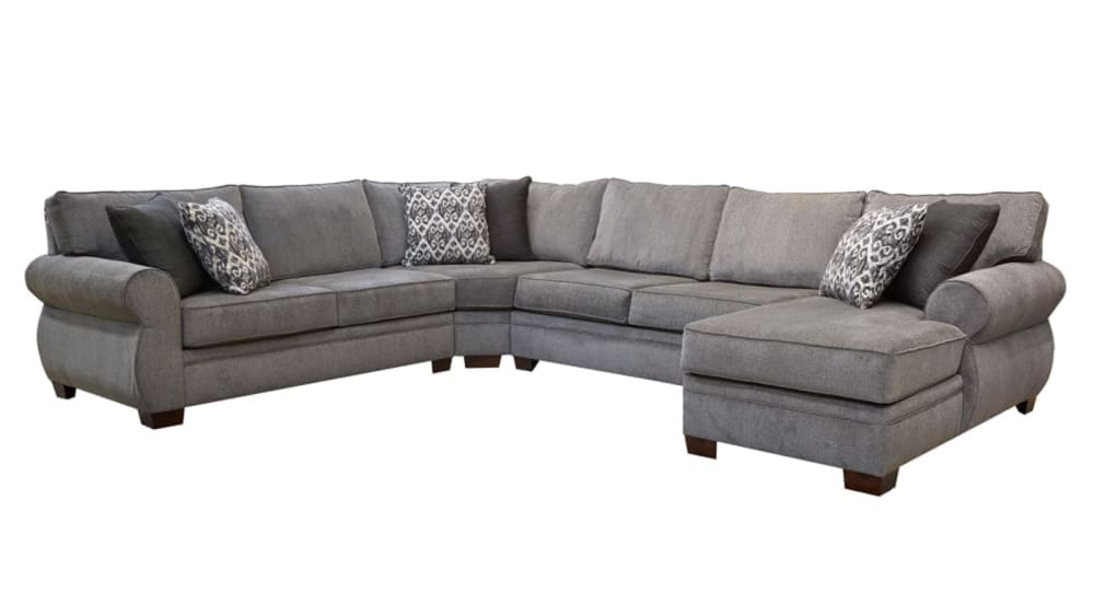 Ashford Grey Right Side Facing Sectional