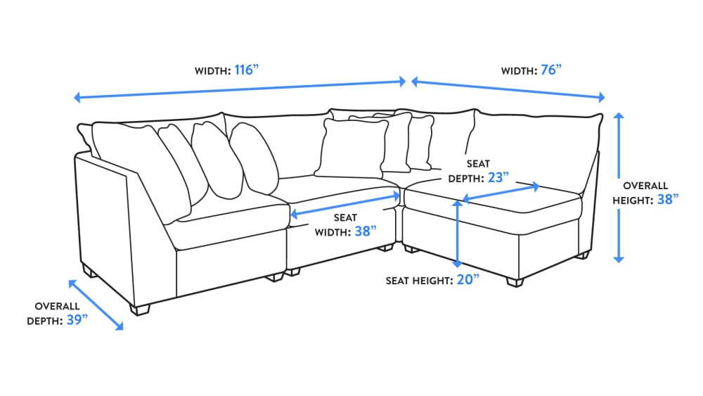 Holman Salt Modular Sectional