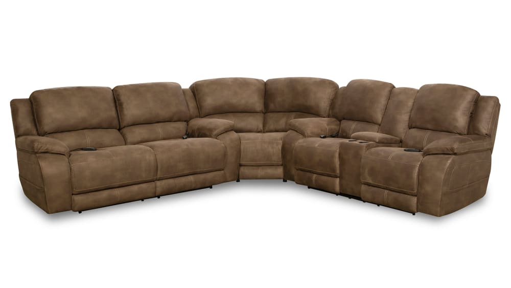 Explorer Espresso Power Sectional