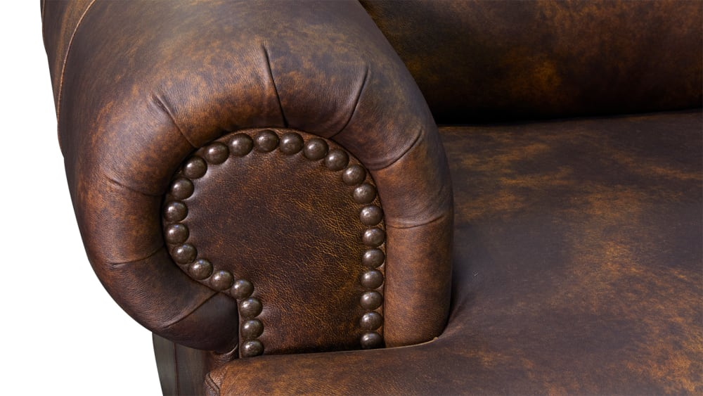 Titan Leather Sofa