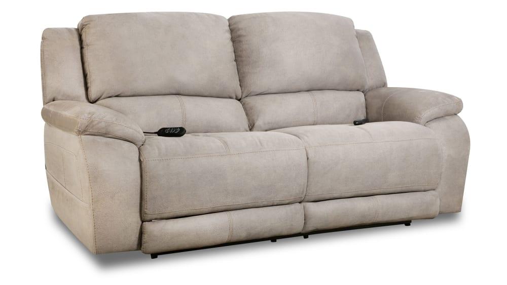 Explorer Nickel Power Motion Sofa