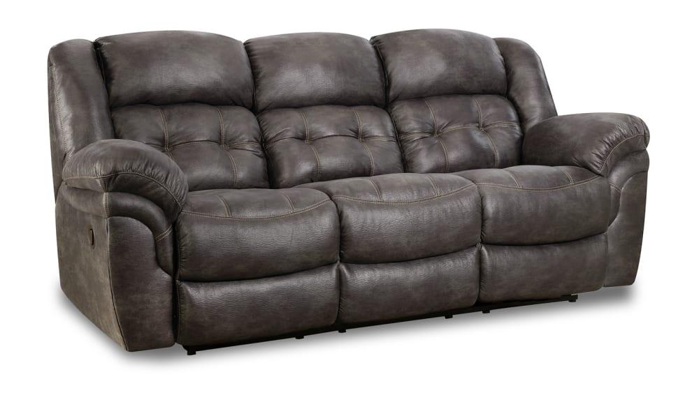 Marcelina Charcoal Sofa