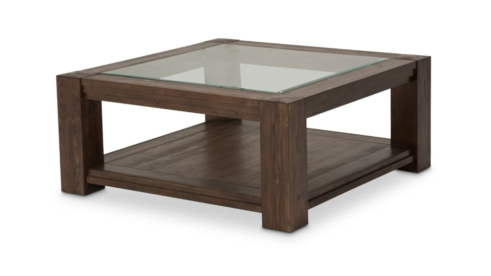 Import Rustic Ranch Cocktail Table