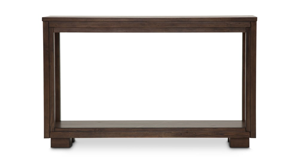 Import Rustic Ranch Sofa Table
