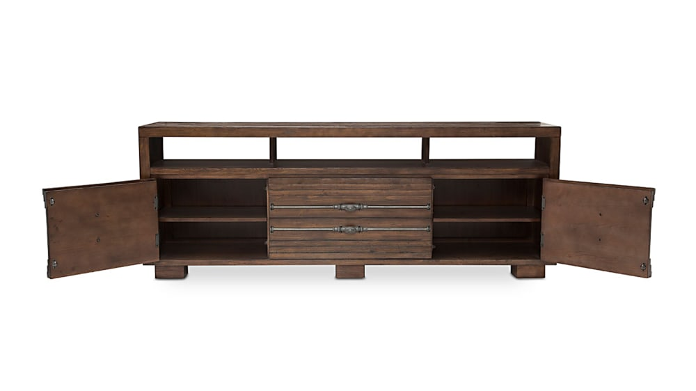 Import Rustic Ranch TV Console, , hi-res