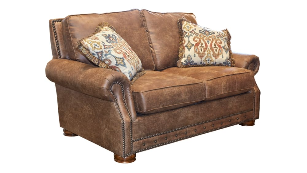 Palance Chestnut Loveseat, , hi-res