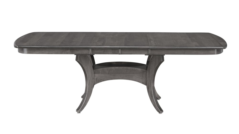 Galveston Brown Maple - Antique Slate Dining Table
