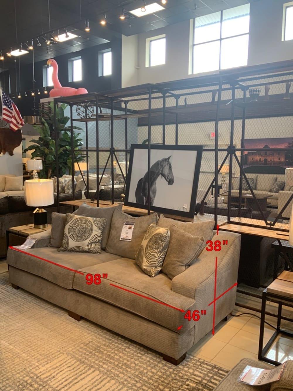 Muleshoe Sofa