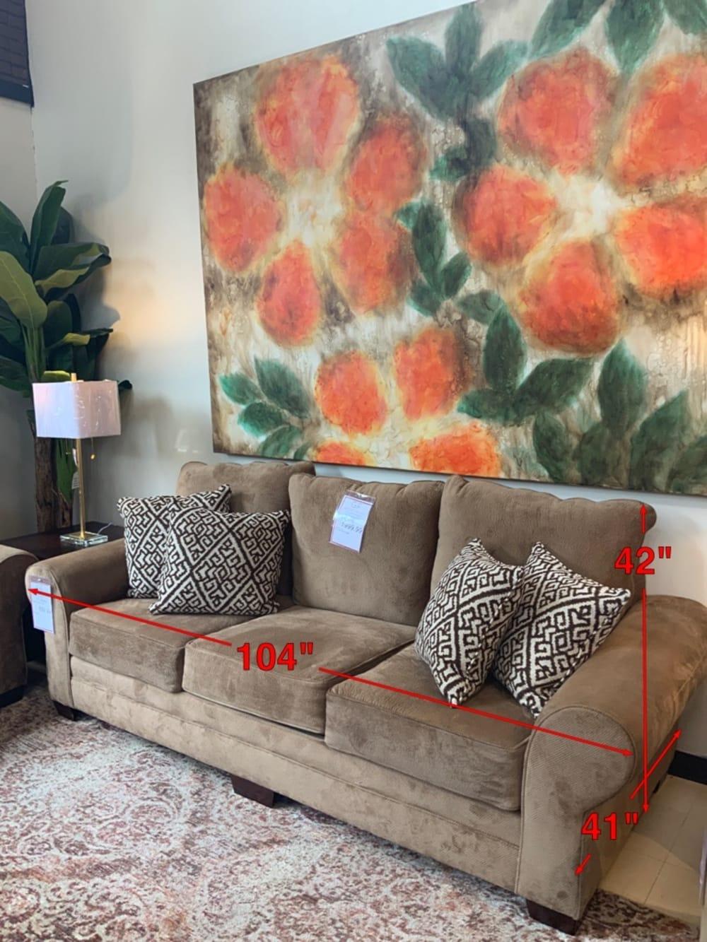 Smithfield Tan Sofa