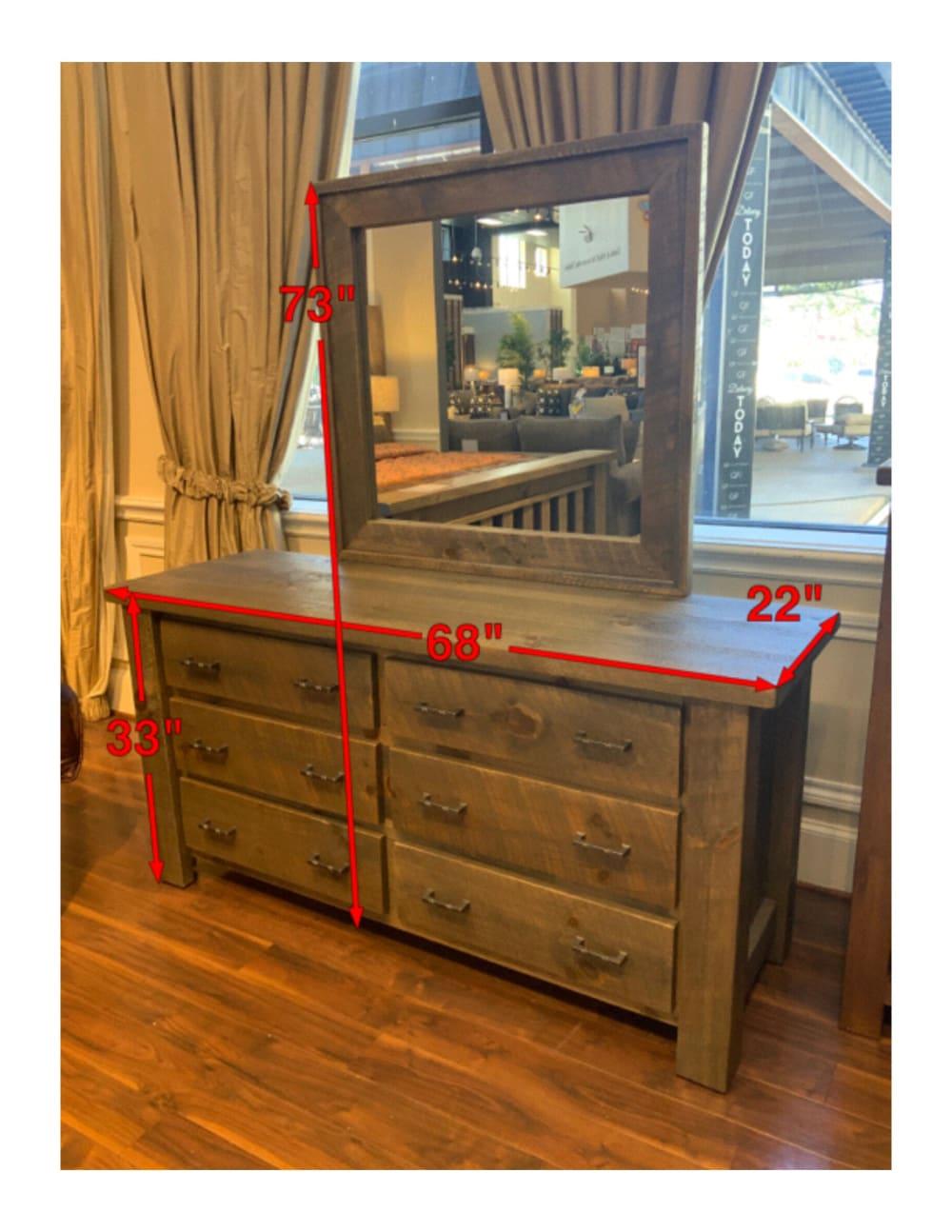 Uvalde Dresser & Mirror