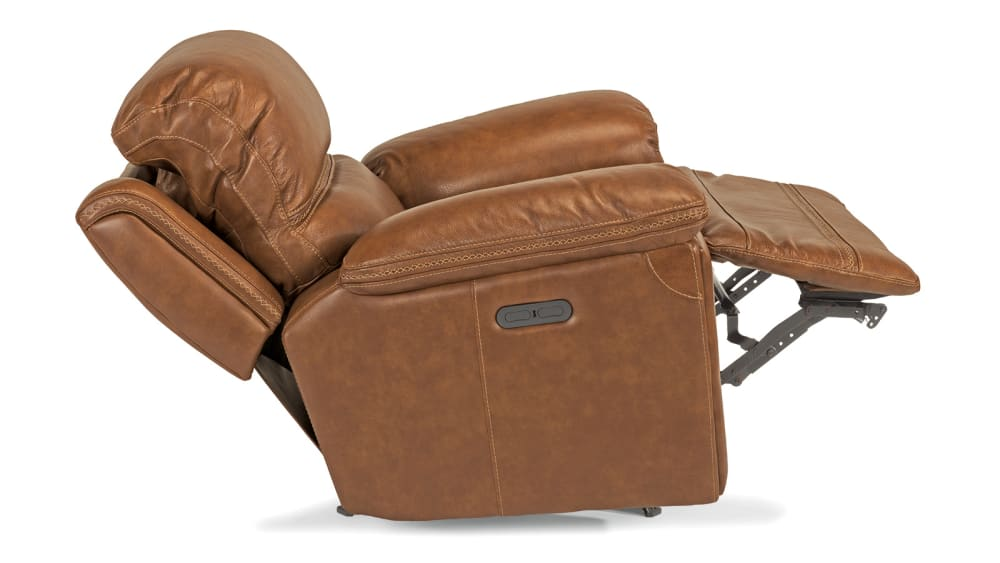 Secretariat Brown Power Glider Recliner