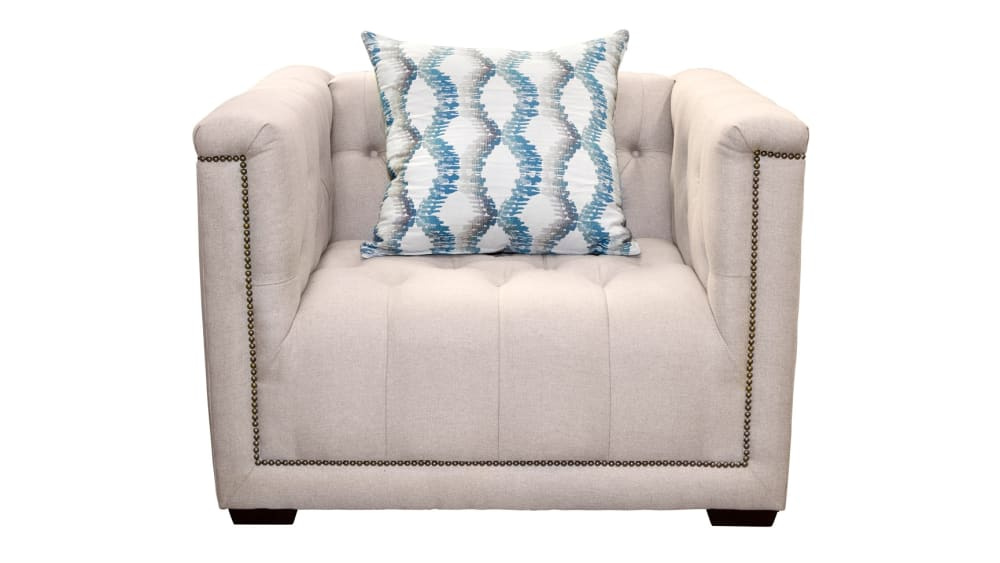 Roosevelt Estate Virgo Teal Chair, , hi-res